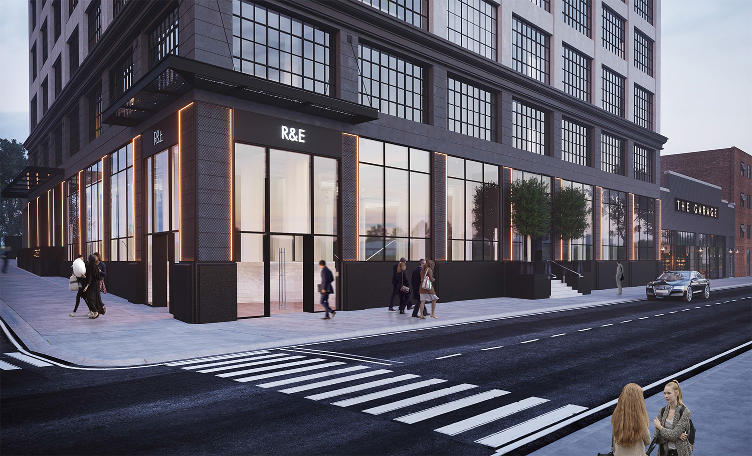 475 Kent Ave Renovation Williamsburg Mixed-Use-Exterior Architecture by Meshberg Group