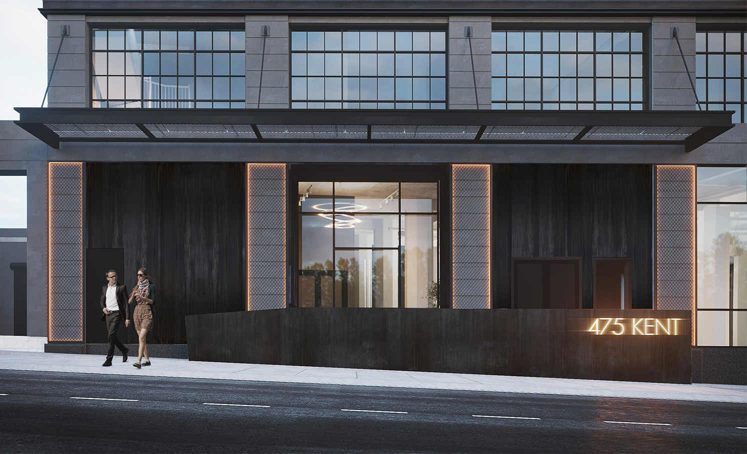 475 Kent Ave Williamsburg Multi-Family Architecture by Meshberg Group