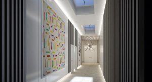Meshberg Group Wynwood Annex Entrance Lobby Miami Commercial Interior Design