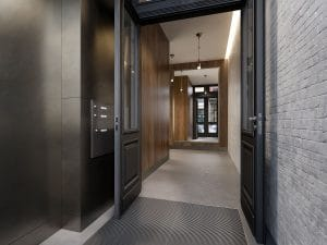 MESHBERG GROUP DESIGNED 15 JAY LOBBY