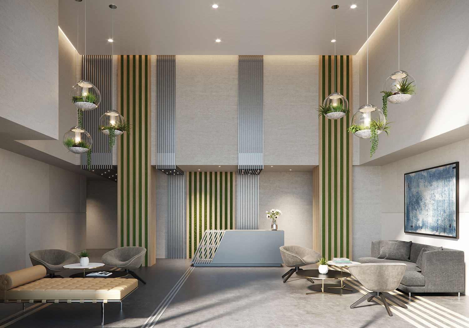 575 Fourth Avenue Lobby Design by Meshberg Group