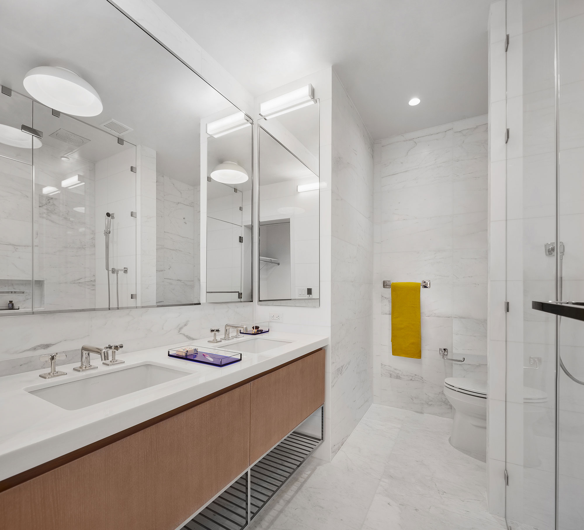 Master Bath The Bath Haus Interior Design by Meshberg Group NYC