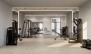 Tampa South Florida Residential Development Amenity Design-Fitness-Center Design by Meshberg Group
