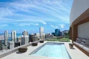 Meshberg Group Related Group Miami Tower Roof Top Pool