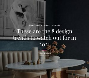 Architect Adam Meshberg on Design Trends in Vogue Living