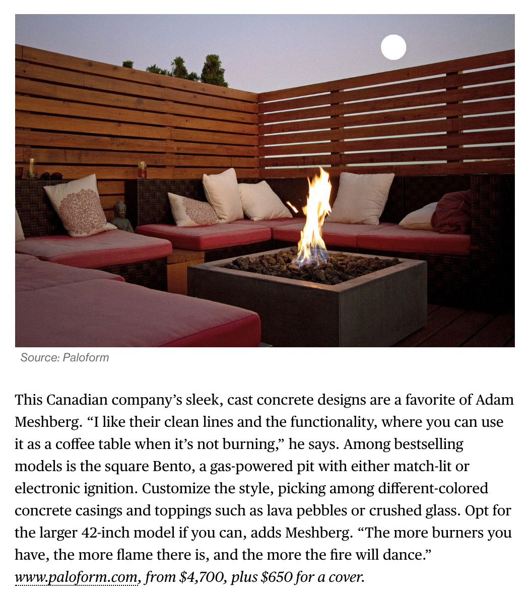 The Best Fire Pits for Outdoor Entertaining This Summer Paloform on Bloomberg News